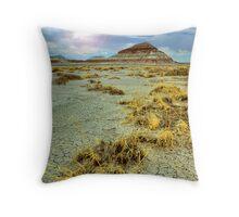 Desert Butte Throw Pillow