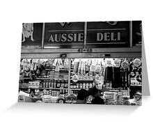 Aussie Deli Greeting Card