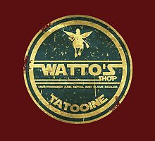 WATTO' S SHOP TATOOINE  by karmadesigner