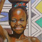 Giriama Girl by Catherine Brock