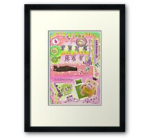 Welcome to your free nap life  Framed Print