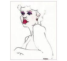 """Pink Lady"" Photographic Print"