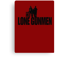 Lone Gunmen Canvas Print