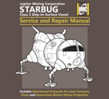 Starbug Service and Repair Manual Kids Clothes