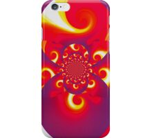 Red Fire Scarab I iPhone Case/Skin