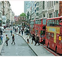 Regent Street, London by Claire McCall
