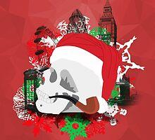 Skull Christmas - Red Mark II by KitsuneDesigns