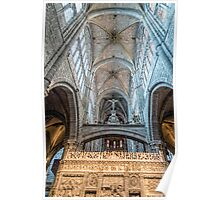 Vaults of Avila Cathedral Poster