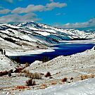 ANDERSON RESERVOIR AFTER FIRST SNOW by Charlene Aycock IPA
