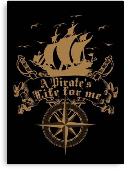 A Pirate's life for me-Pirates by augustinet