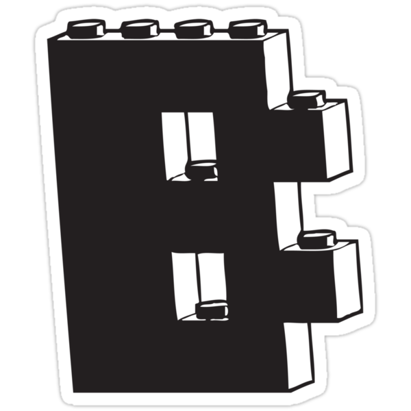 THE LETTER B, Customize My Minifig by ChilleeW