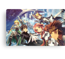 Anime: SWORD ART ONLINE Canvas Print