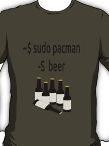 Arch Linux sudo pacman -S beer T-Shirt