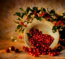 Christmassy still life by nitrams