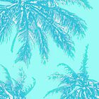 Palms in Aqua by SStrouse