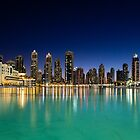 Dubai At Night by Simon Hills
