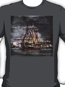 World's oldest commissioned warship afloat - USS CONSTITUTION T-Shirt