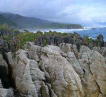Pancake Rocks, New Zealand by plosker
