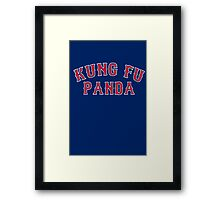 Kung Fu Panda is on the Red Sox! - Pablo Sandoval Framed Print