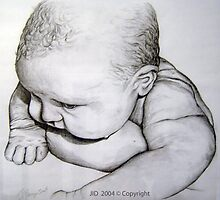 BABY DOLL - First Bath by Janette  Dengo
