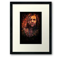 Sandor Clegane Framed Print