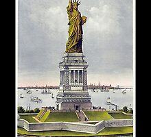 Statue of Liberty, Enlightening the World, USA, New York, America by TOM HILL - Designer
