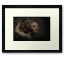 To A Wild Rose Framed Print