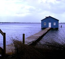The blue boat hut by Gozza