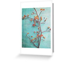 She Hung Her Dreams on Branches Greeting Card