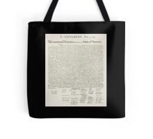 Declaration of Independence, United States of America, American Independence,USA Tote Bag