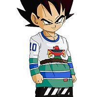 Hypebeast Prince Vegeta by FlexGod