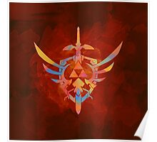 Skyward Sword Orange Poster