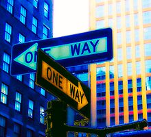 One way ? or One way ? by fabricedeloor