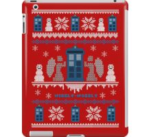 Who-liday Sweater iPad Case/Skin