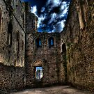 Great Hall, Chepstow Castle by PaulHealey