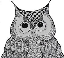 OWL 02. BLACK &WHITE by MUYOU