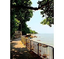 The Sea walk - Hong Kong. Photographic Print