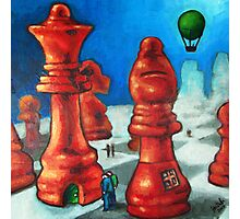 The Chess People Photographic Print
