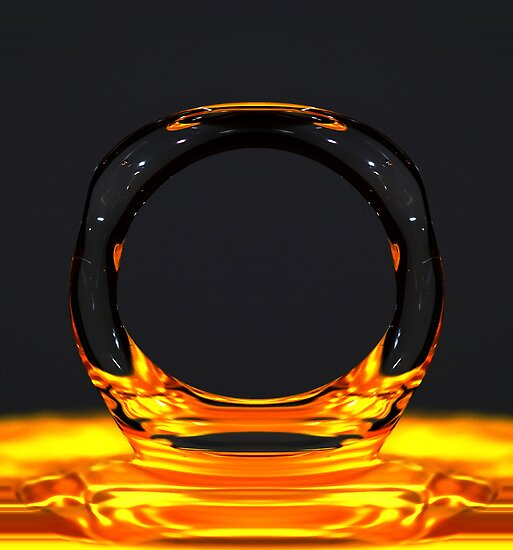 Ring of water by Matt Sillence
