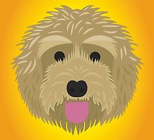 Golden Labradoodle  by threeblackdots
