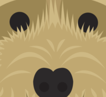 Golden Labradoodle  Sticker