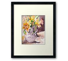 Daffodil Still Life Framed Print