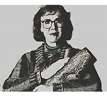 Twin Peaks Log Lady Photographic Print