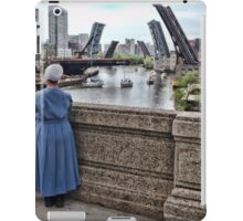 Amish on lookers iPad Case/Skin