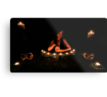 The Tarot Reader Metal Print
