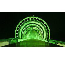 Green Runway Photographic Print