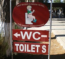 WC Sign Post by Tim Butt