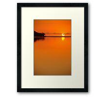 Currimundi Lake  Framed Print