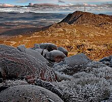 Mount Barrow Summit by Peter Daalder