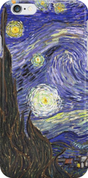 Vincent van Gogh, Starry Night by naturematters